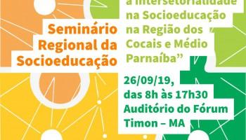 Imagem do seminário de socioeducação da região de Timon